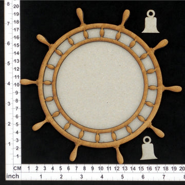 Ships Wheel Tray- Chipboard & MDF