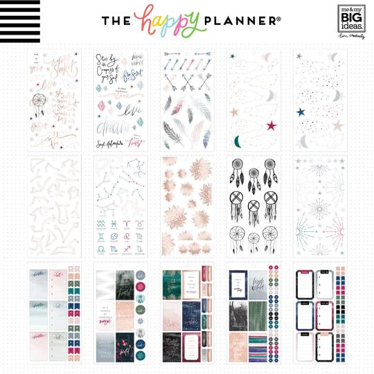Happy Planner Sticker Book - Free Spirit