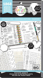 Happy Planner Sticker Book - Journaling