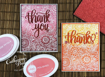 Doodle Garden Background Stamp