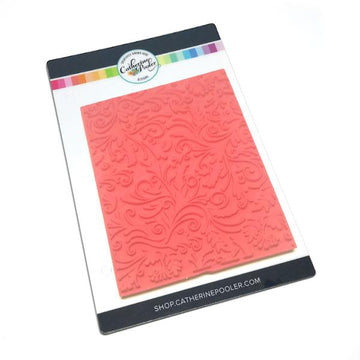 Flourishes Background Stamp