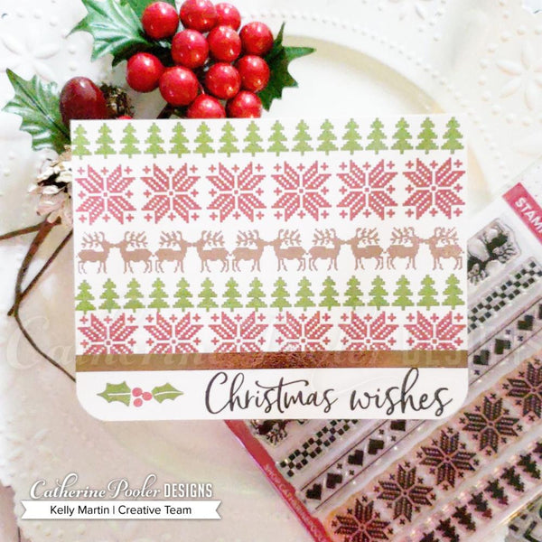 Cozy Borders Stamp Set