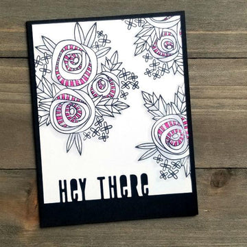 Cottage Corsage Stamp Set