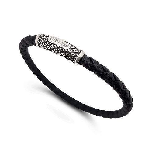 Tribe Woven Leather Cuff