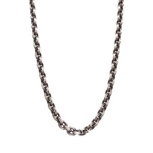 Navette Silver chain - large - 70cm
