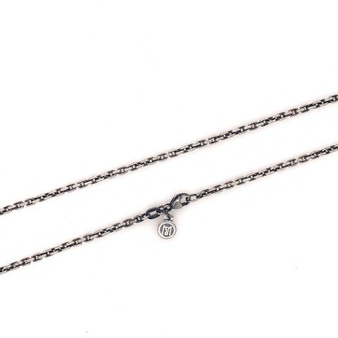 Voyager Black Silver Chain 50cm