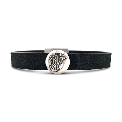 Eagle Leather Cuff Black