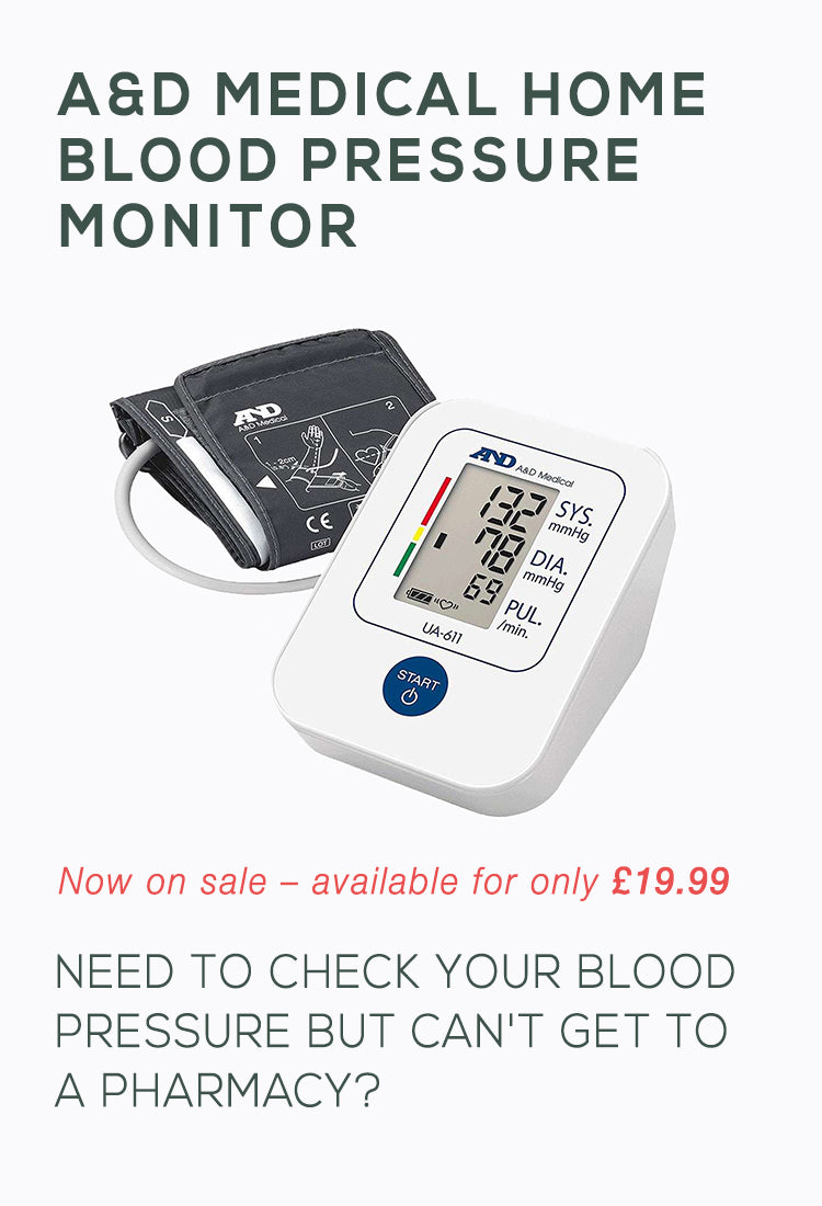 A&D Blood Pressure Monitor On Sale At Pharmalogic Chemist Online For Home Delivery