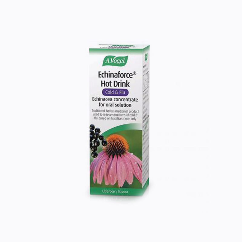 A.Vogel Echinaforce Hot Drink Cold & Flu Relief – 100ml
