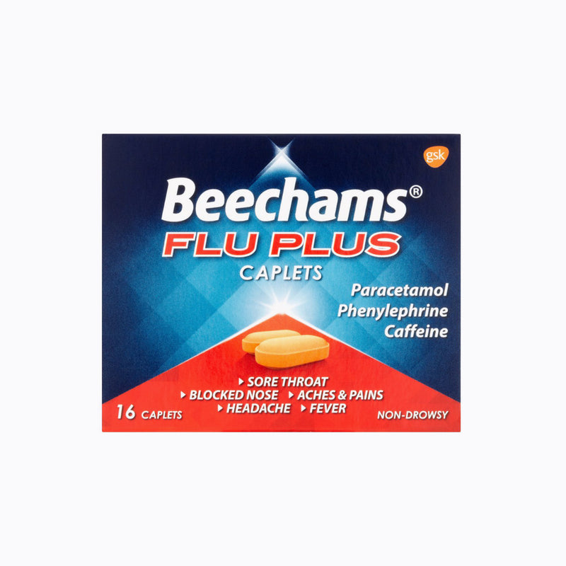 Beechams Flu Plus – 16 Caplets