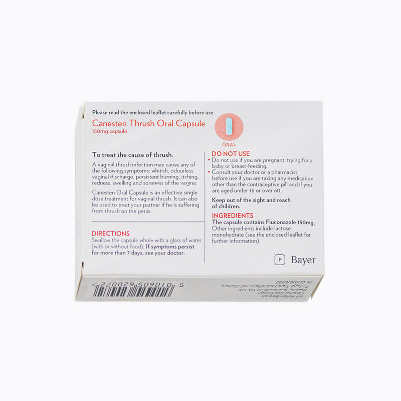 Canesten Oral Capsule For Thrush - 1 Capsule