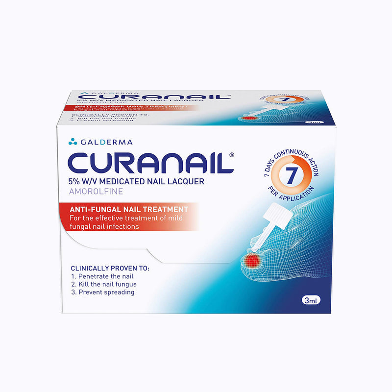 Curanail 5% Medicated Fungal Nail Lacquer - 3ml