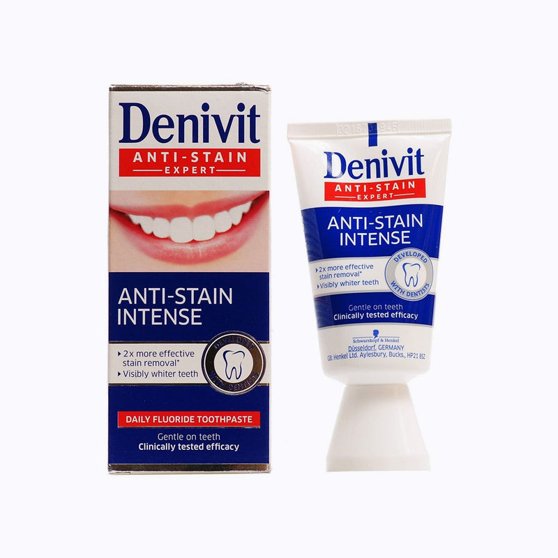 Denivit Anti-Stain Whitening Toothpaste