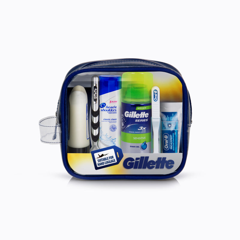 Gillette Travel Essentials Kit