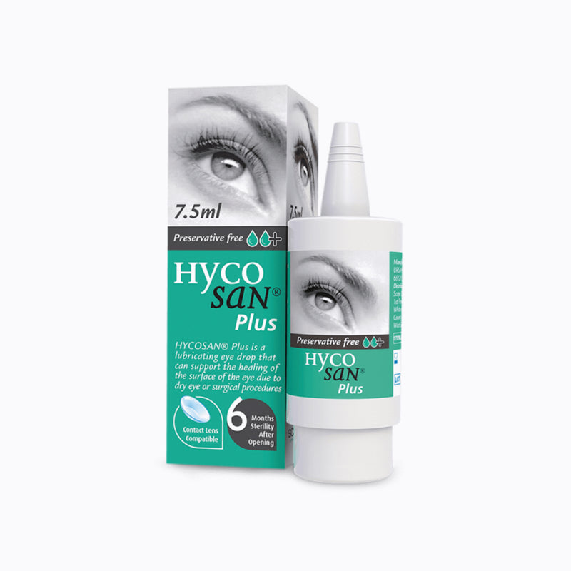 Hycosan Plus Eye Drops – 7.5ml