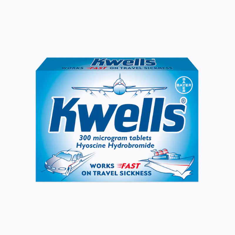 Kwells Travel Sickness Relief 300mg - 12 Tablets