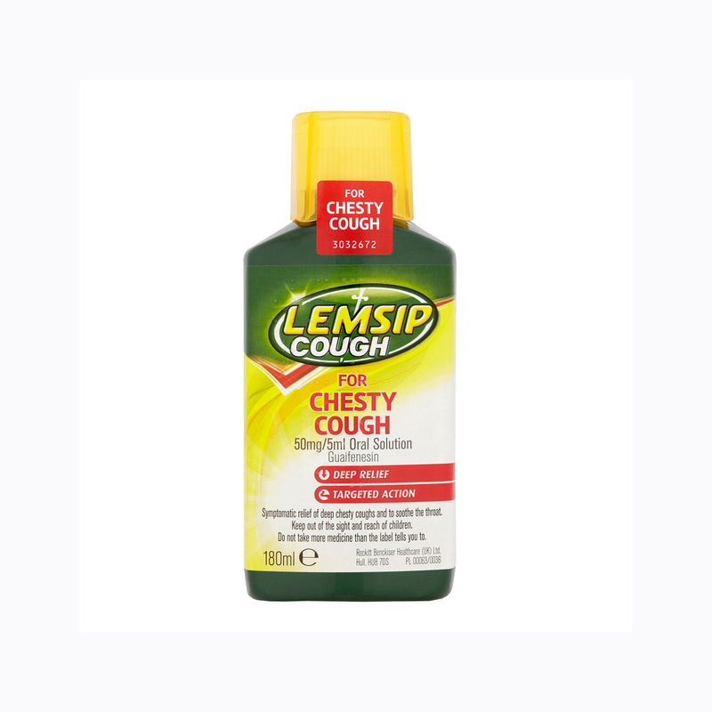 Lemsip Cough For Chesty Cough – 180ml