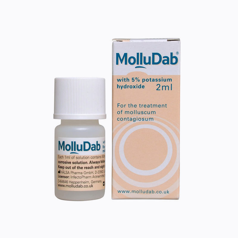 MolluDab 5% Hydroxide Topical Applicator Treatment