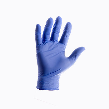 Disposable Nitrile Gloves (Powder-Free) – 200 Ambidextrous Gloves