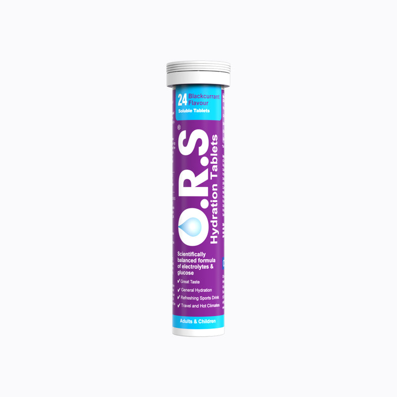 ORS Hydration – 24 Blackcurrant Tablets