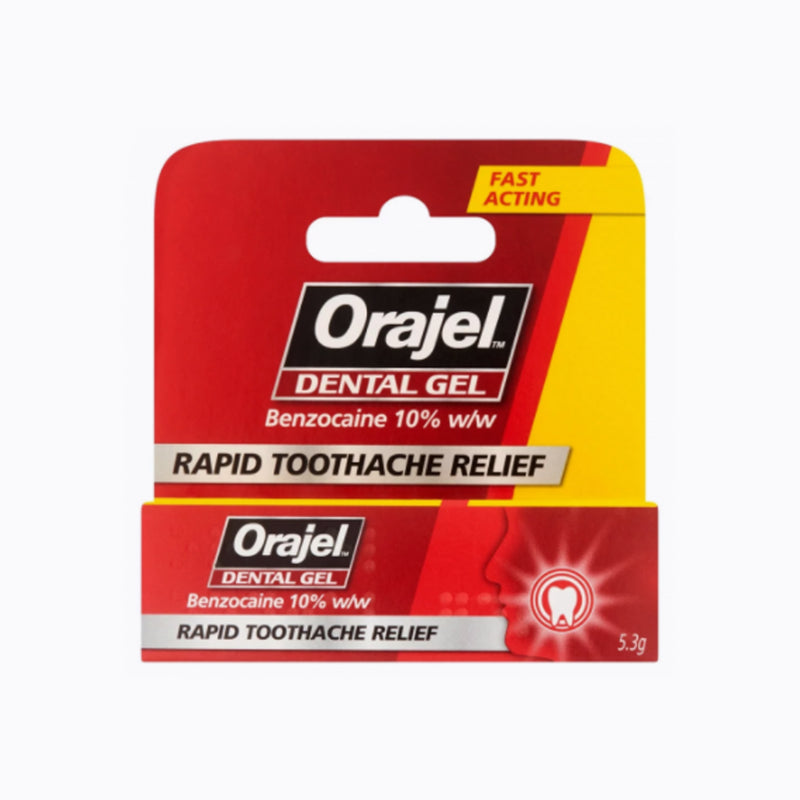 Orajel Dental Gel Pain Relief - 5.3g