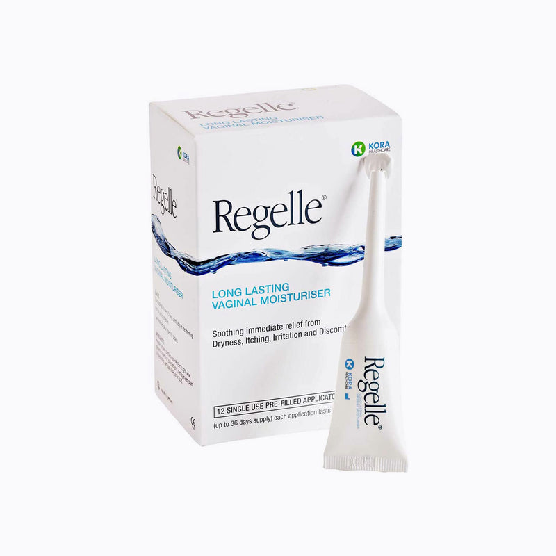 Regelle Long Lasting Vaginal Moisturiser - 6 Applicators