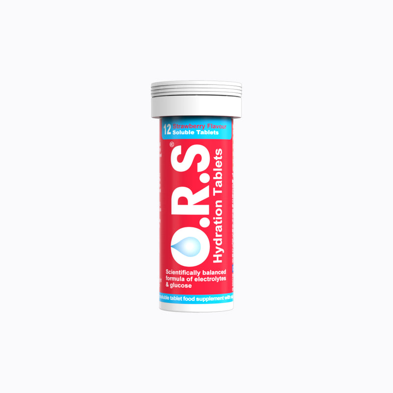 ORS Hydration – 12 Strawberry Tablets