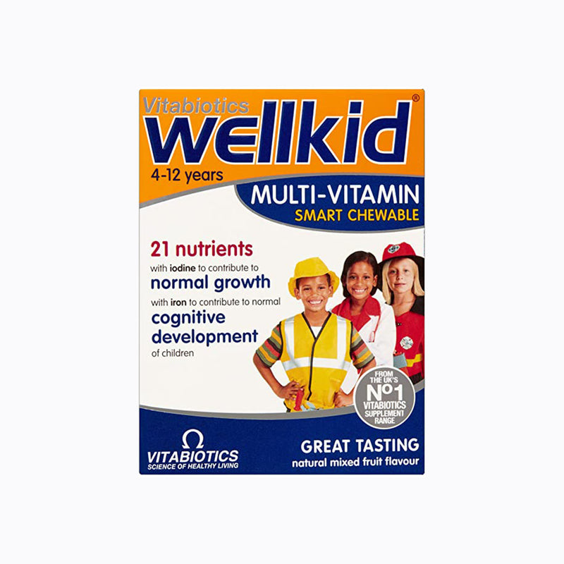 Vitabiotics Wellkid Multivitamin - 30 Tablets