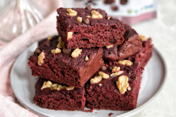 Sugar Free Beet Brownies