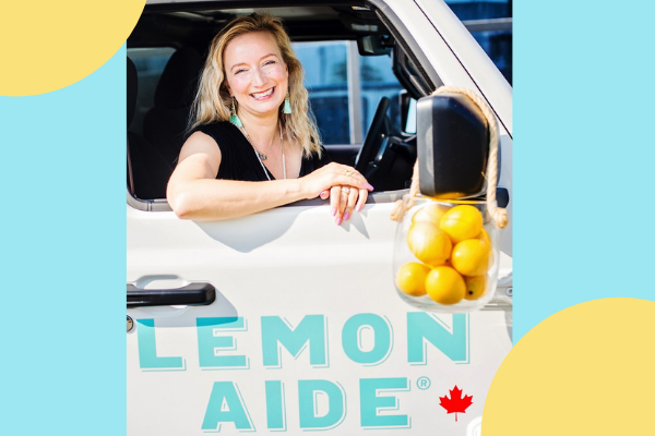 Inspired By... Meet Natacha Rey, Founder of Lemon Aide