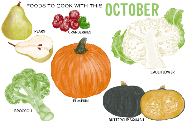 Foods to Cook With This October