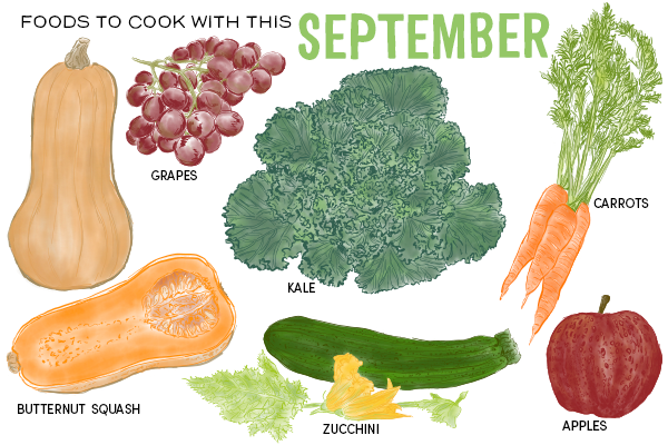 Foods to Cook With This September