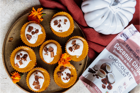 Rawcology Pumpkin Cheezecake Cups Plant Based Recipe