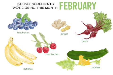 February Baking Ingredients We're Using This Month