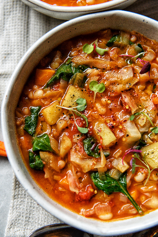 White Bean Cabbage Soup
