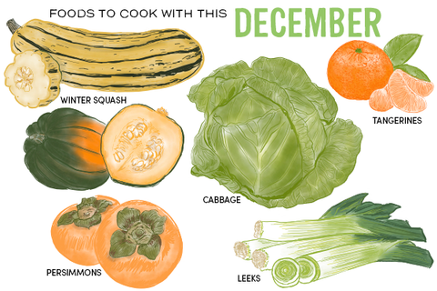 Foods to Cook With This December