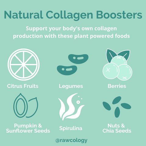 Rawcology Blog: Natural Collagen Boosters