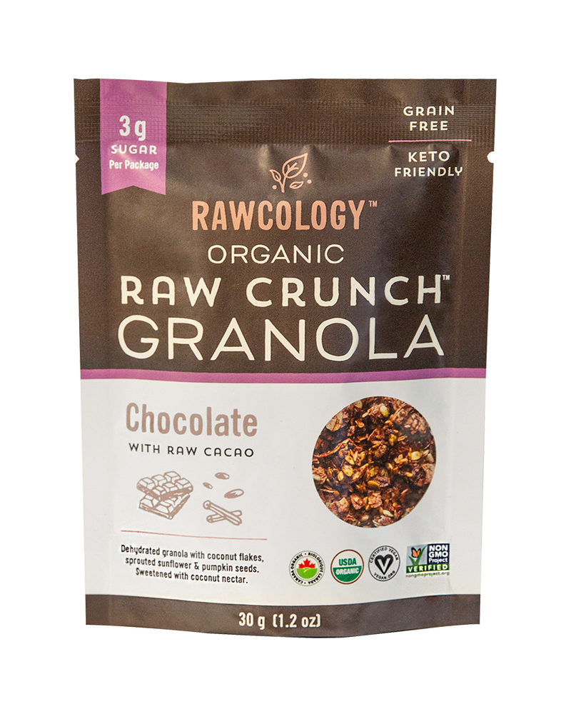 New! Snack Pack Chocolate Granola, 6x30g