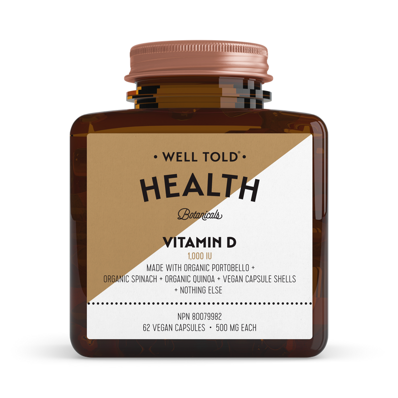 Vitamin D from Well Told Health Gift With Purchase