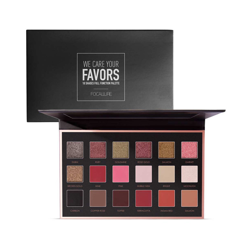 18 Color Eyeshadow Palette