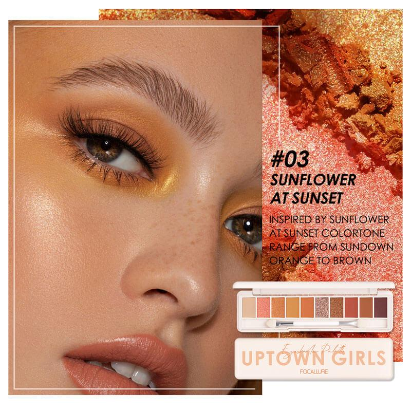 Staymax 10 Color Eyeshadow Palette