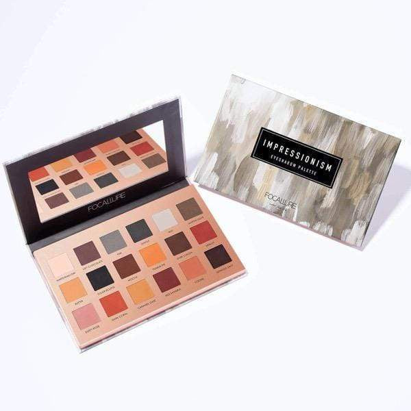 18 Color Eyeshadow Palette - Impressionism