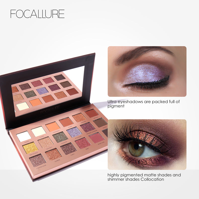 18 Color Eyeshadow Palette - TWILIGHT