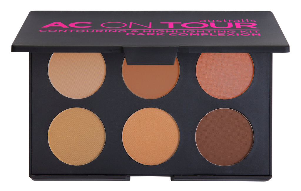 AC ON TOUR Powder Contouring And Highlighting Palette