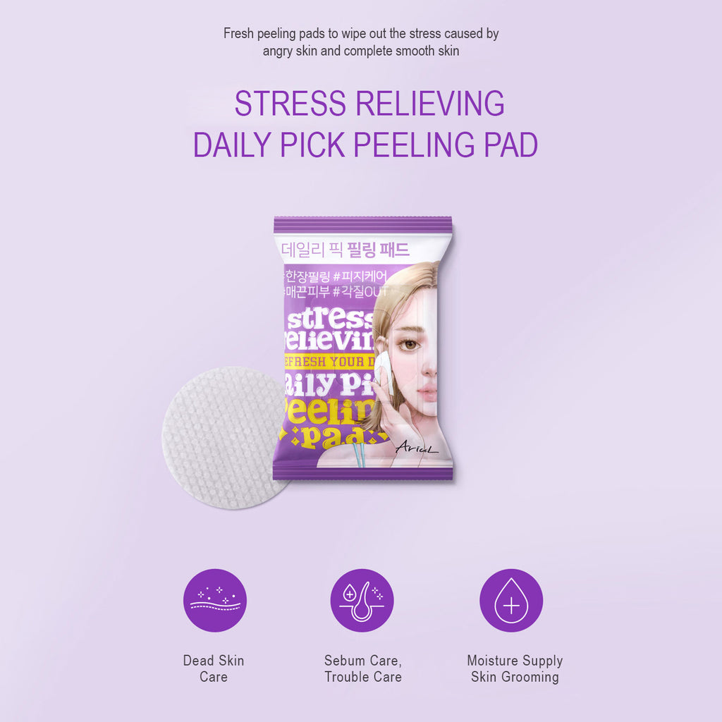 Stress Relieving Daily Pick Peeling Pad (30 Sheets)