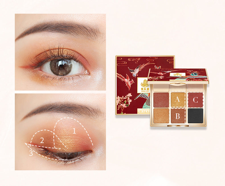 Summer Palace Phoenix 9 Color Eyeshadow Palette
