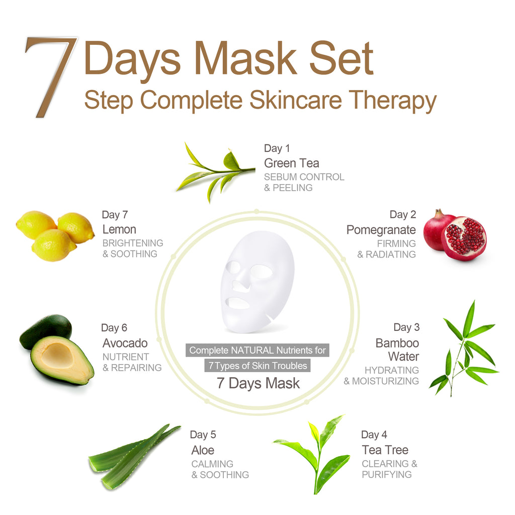 7days Mask Aloe