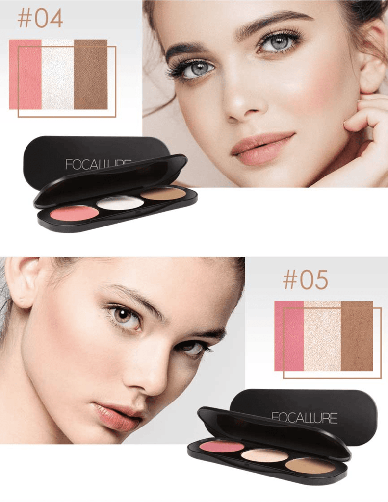 Blush & Highlighter Palette