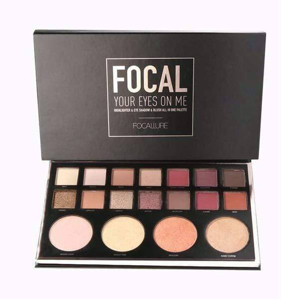 18 Pan FOCAL YOUR EYES ON ME Eyeshadow Palette - Laycy