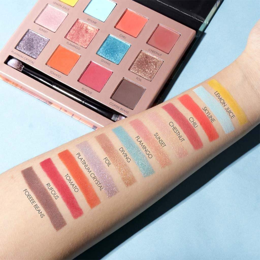 12 Color Eyeshadow Palette - SO HOT